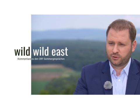 Christian Sagartz u ljetnom razgovoru ORF-a. ÖVP-EU-Mandatar Christian Sagartz im Sommergespräch beim ORF-Burgenland.