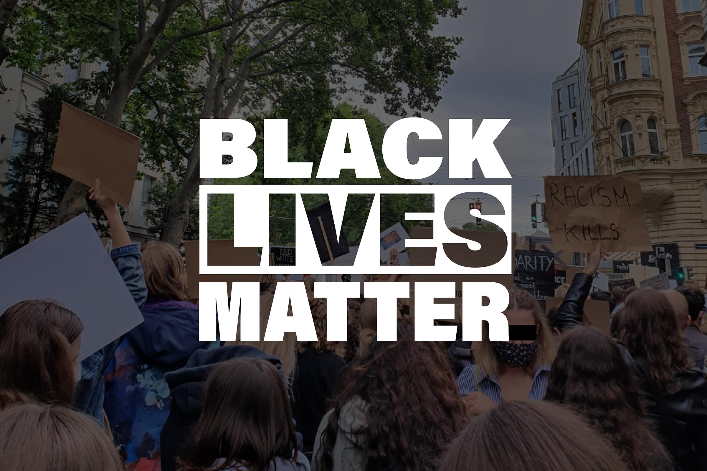 Demonstranti za Black Lives Matter